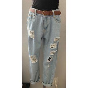 Denim - Women's / Boyfriend Jeans